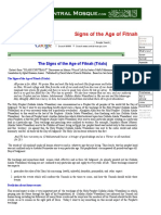 The Signs of the Age of Fitnah (by Mufti Taqi Usmani)