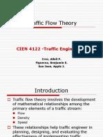 Traffic Flow TheoryPPT