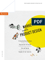 Marketing Meets Product Design