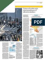 Lima Es La Urbe Más Amenazada Por El Silencio Sísmico
