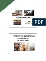 1. Presentación Historia - Quiromasaje Profesional