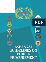 ASEAN Guidelines on Public Procurement