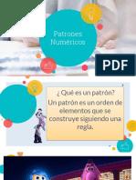 PATRONES NUMERICOS 3°B.pptx
