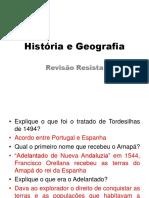 História e Geografia Revisão Geral
