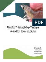 Chlor+desinfeksi