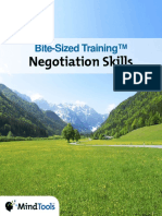 BiteSizedTraining Negotiation