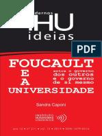 Foucault e a Universidade