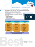How to develop a comprehensive training strategy