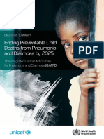 Who Pneumonia Child Mortality