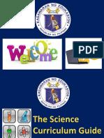 Science Curriculum 2016