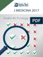 Test Medicina 2017 - Analisi Punteggi e Graduatorie