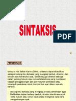 SINTAKSIS