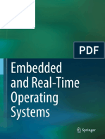 Embedded Real Time Operating Systems