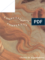 Computational Complexity - Christos Papadimitriou