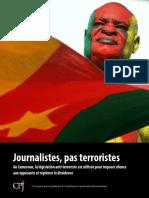 Journalistes, Pas Terroristes