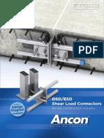 ESD DSD Shear Load Connectors