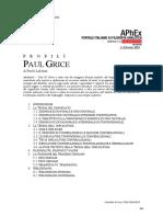 Profili. Paul Grice. (di Paolo Labinaz)