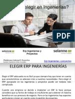 Qué ERP Elegir en Ingenierías
