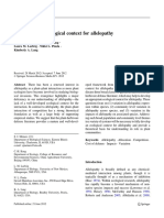 Developing an ecological context for allelopathy.pdf