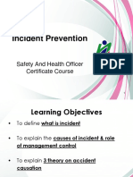 NIOSH SHO 02-Incident Prevention