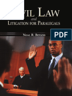 Civil Law Litigation for Paralegals