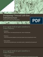 Designing Critical Life-line Infrastructure v3