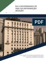 Guia Para a Governanca de Tecnologia Da Informacao e Comunicacao de Sao Paulo Min