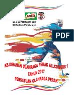 Buku Pertandingan Perak Allcomers 2017