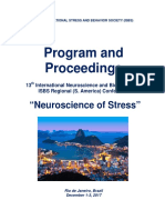 "Program and Proceedings - 13th International Neuroscience and Biological Psychiatry ISBS Regional (S. America) Conference ""NEUROSCIENCE OF STRESS"", Dec 1-2, 2017, Rio de Janeiro, Brazil"