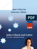 Labor Plan for Veterans Fact Sheets