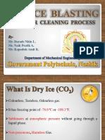 PPT on Dry Ice Blasting