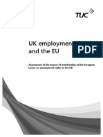 UK Employment Rights and the EU