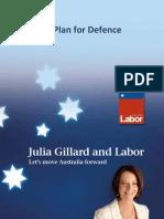 Labor Defence Plan Fact Sheet