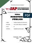 Monografía Uap - Ministerio Público