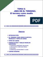 Tema5 Msc Tensiones. Medio Elástico