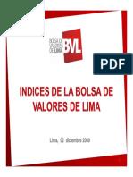 Analisis de La Bolsa de Valores de Lima