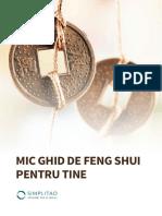 Simplitao Mic Ghid Feng Shui Pentru Tine