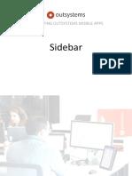 Sidebar Exercise