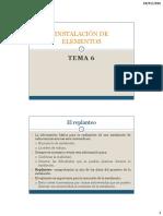 Instalaciones de Radiocomunicaciones-TEMA 6