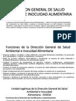 Direccion General de Salud Ambiental e Inocuidad Alimentaria