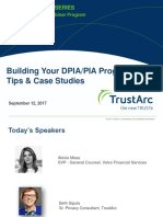Building Your DPIA/PIA Program