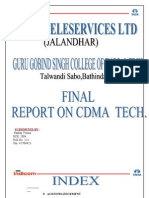 Final Report-On Tata Indicom by Gaurav
