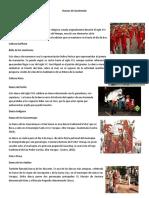 5 Danzas  de Guatemala y Su Origen