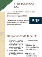 Redes de Politicas Publicas
