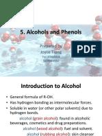5. Alcohols and Phenols