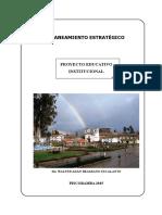 Modelo de PEI Piscobamba 2015