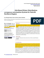 Developing a Web-Based Water Distribution1