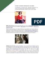 Pintores Escultores y Escritores Guatemaltecos y Del Mundo