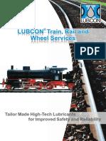 LUBCON Train Rail and Wheel - Eng