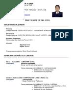 Curriculum Vitae - Tarik